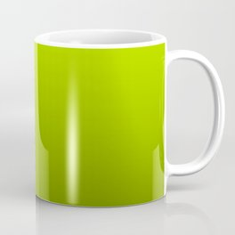 Slime Green and Black Deadly Ombre Nightshade Coffee Mug