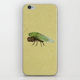 Cicada Playing a Sqeezebox iPhone Skin