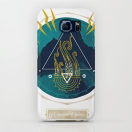 The Mountain o Madness iPhone Case