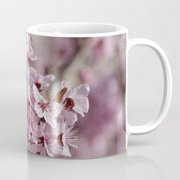 Spring Pink Cherry Blossom Flowers Coffee Mug