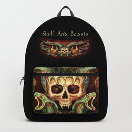Skull And Beasts 3 Backpack