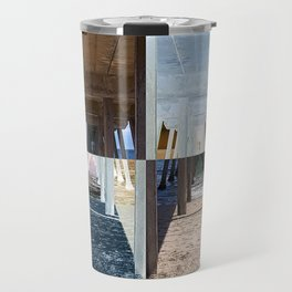 Quadrants of An Ocean Pier Travel Mug
