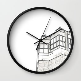 Architecture: Downtown Valencia Wall Clock