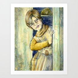 It's Shelley For President Art Print