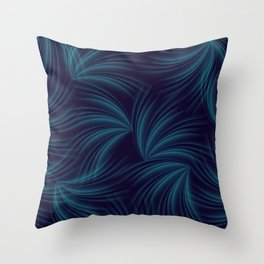 feathers in the wind Throw Pillow