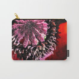 Poppy Close Up Carry-All Pouch