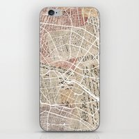 berlin iPhone & iPod Skins featuring Berlin by Mapsland