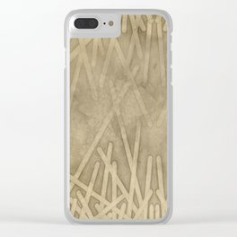 sand geode  - Clear iPhone Case