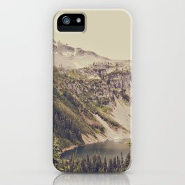 Mountain Lake iPhone Case