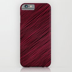 Stripes - Red Slim Case iPhone 6s