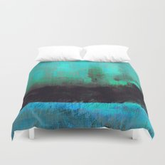 Lysergic Horizon Duvet Cover