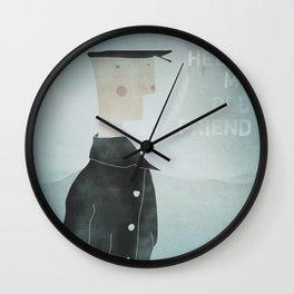 Ishmael : Hello My Old Friend Wall Clock