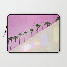 Levitated Mass (Pink) Laptop Sleeve