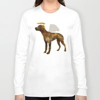 puppies Long Sleeve T-shirts featuring puppies by shrewmole