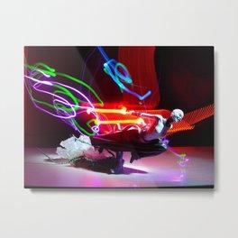 Asajj Ventress' lightsabers Metal Print