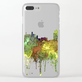 Colorado Springs Skyline SG - Safari Buff Clear iPhone Case
