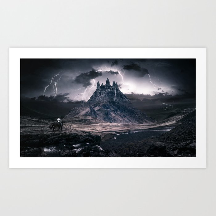 Forgotten World: Angkor Wat Art Print