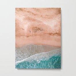 Peru Beach Metal Print
