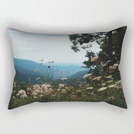 Blue ridge mountains Rectangular Pillow