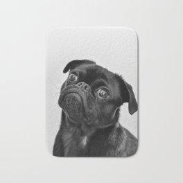 Pug Love II Bath Mat