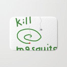 Kill mosquito Bath Mat
