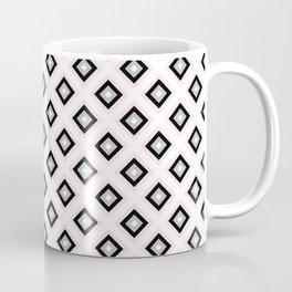 Blush Pink Diamond Pattern | Luxury | For Her | Bedroom | Art Deco Coffee Mug