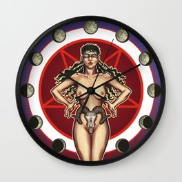 Sic Vita Est (LESS GORE/NUDITY) Wall Clock