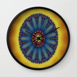 "kaliedoscope/Mandala  - ""Shining"" Wall Clock"