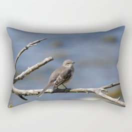Northern Mockingbird Rectangular Pillow