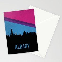 Albany Skyline Stationery Cards