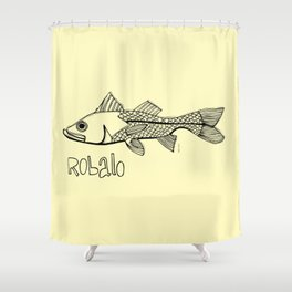 Robalo Shower Curtain