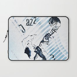Double Bassist Laptop Sleeve