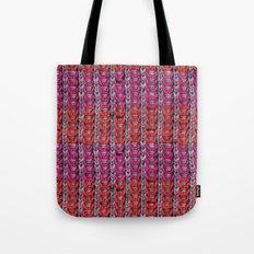 Neon Mikkey Knit Tote Bag