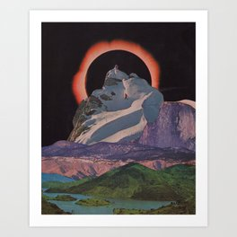 Multiverse Similarities V Art Print