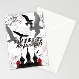 No mourners, No funerals - Six of crows Stationery Cards