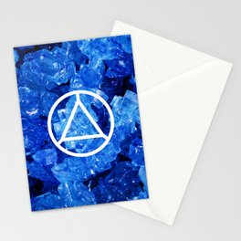 Sapphire Candy Gem Stationery Cards