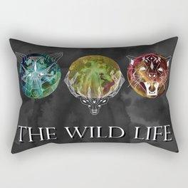 The Wild Life Rectangular Pillow