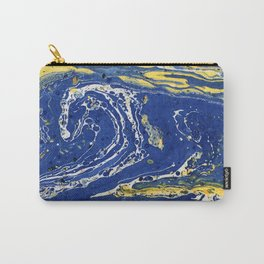 Starry Night Wave #abstract #decor #society6 #buyart Carry-All Pouch