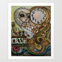 owls's watch pt2 Art Print