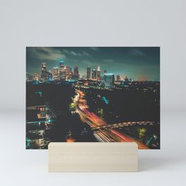 Houston Skyline Mini Art Print