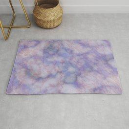 Modern lavender lilac rose gold marble Rug