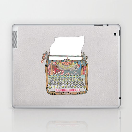 I DON'T KNOW WHAT TO WRITE YOU Laptop & iPad Skin