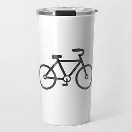 Bicycle Bike fixie gift gym sport bmx to bike Travel Mug