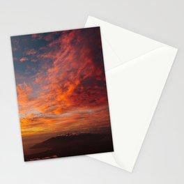 Haleakala's Colorful Sunset Stationery Cards