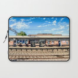 Miniature People at the Station Laptop Sleeve