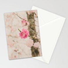 Spring Peach Blossom Stationery Cards