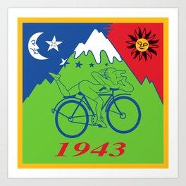 LSD 1943 - Hoffman Trip Kunstdrucke