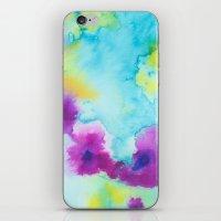 tie dye iPhone & iPod Skins featuring Tie-Dye by Tatiana Shaffer
