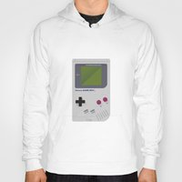 gameboy Hoodies featuring Gameboy by Ira Shepel