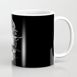 Skull 50 shades of grey Coffee Mug